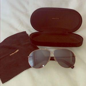 Tom Ford Eva sunglasses rose gold